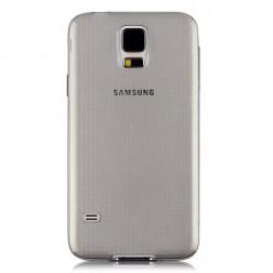 Ploniausias TPU skaidrus dėklas - pilkas (Galaxy S5 / S5 Neo)