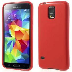 """""""Jelly Case"""" dėklas - raudonas (Galaxy S5 / S5 Neo)"""