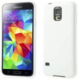 """""""Jelly Case"""" dėklas - baltas (Galaxy S5 / S5 Neo)"""