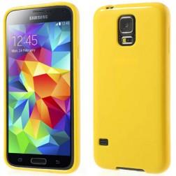"""""""Jelly Case"""" dėklas - geltonas (Galaxy S5 / S5 Neo)"""