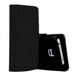 Atverčiamas dėklas, piniginė - juodas (Galaxy S5 / S5 Neo)