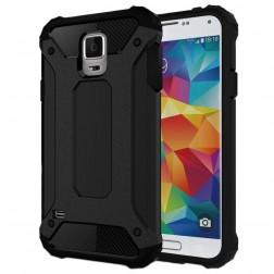 Sustiprintos apsaugos dėklas - juodas (Galaxy S5 / S5 Neo)