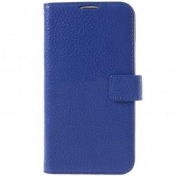 """""""Lychee"""" atverčiamas dėklas - mėlynas (Galaxy S5 / S5 Neo)"""