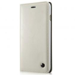 """""""CaseMe"""" solidus atverčiamas dėklas - baltas (Galaxy S5 mini)"""