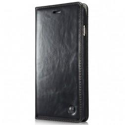 """""""CaseMe"""" solidus atverčiamas dėklas - juodas (Galaxy S5 mini)"""