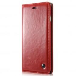 """""""CaseMe"""" solidus atverčiamas dėklas - raudonas (Galaxy S5 mini)"""