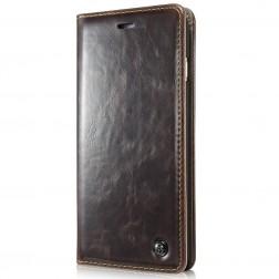 """""""CaseMe"""" solidus atverčiamas dėklas - rudas (Galaxy S5 mini)"""