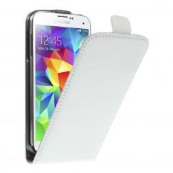 Klasikinis atverčiamas dėklas - baltas (Galaxy S5 mini)