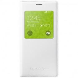"""""""Samsung"""" S View Cover atverčiamas dėklas - baltas (Galaxy S5 mini)"""