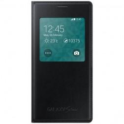 """""""Samsung"""" S View Cover atverčiamas dėklas - juodas (Galaxy S5 mini)"""