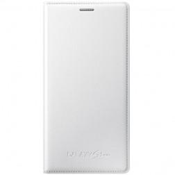 """""""Samsung"""" Flip Cover atverčiamas dėklas - baltas (Galaxy S5 mini)"""