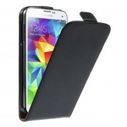 Klasikinis atverčiamas dėklas - juodas (Galaxy S5 mini)