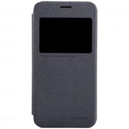 """""""Nillkin"""" Sparkle atverčiamas dėklas - pilkas (Galaxy S5 mini)"""
