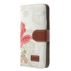 """""""Spring"""" atverčiamas dėklas - baltas (Galaxy S5 / S5 Neo)"""