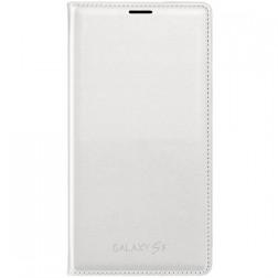 """""""Samsung"""" Flip Wallet Cover atverčiamas dėklas - baltas (Galaxy S5 / S5 Neo)"""