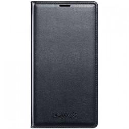 """""""Samsung"""" Flip Wallet Cover atverčiamas dėklas - juodas (Galaxy S5 / S5 Neo)"""