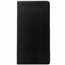 """Atverčiamas """"Dot View"""" dėklas - juodas (Galaxy S5 / S5 Neo)"""