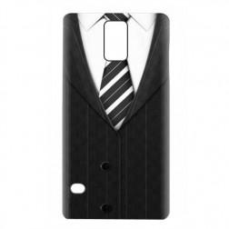 """""""Smokingas"""" plastikinis dėklas - juodas (Galaxy S5 / S5 Neo)"""