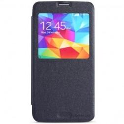 """""""Nillkin"""" Sparkle atverčiamas dėklas - pilkas (Galaxy S5 / S5 Neo)"""