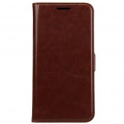Atverčiamas dėklas, knygutė - tamsiai rudas (Galaxy S5 / S5 Neo)