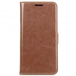 Atverčiamas dėklas, knygutė - rudas (Galaxy S5 / S5 Neo)