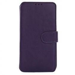 """""""Retro"""" atverčiamas dėklas - violetinis (Galaxy S5 / S5 Neo)"""