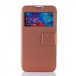 """""""Pintas"""" atverčiamas dėklas - bronzinis (Galaxy S5 / S5 Neo)"""