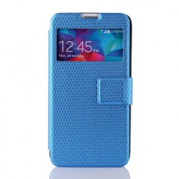 """""""Pintas"""" atverčiamas dėklas - mėlynas (Galaxy S5 / S5 Neo)"""