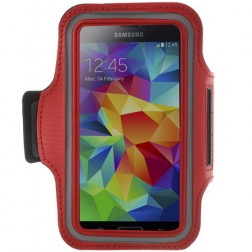 Dėklas sportui (raištis ant rankos) - raudonas (L+ dydis)