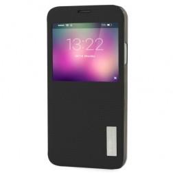 """""""ROCK"""" Elegant dėklas - juodas (Galaxy S5 / S5 Neo)"""