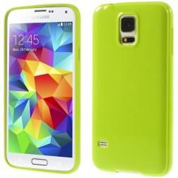 """""""Jelly Case"""" dėklas - žalias (Galaxy S5 / S5 Neo)"""