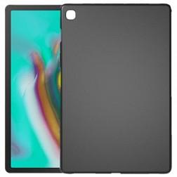 Kieto silikono (TPU) dėklas - juodas (Galaxy Tab S5e)