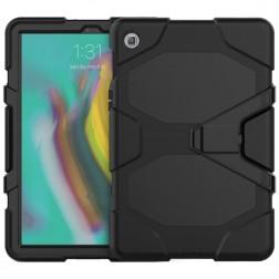 Sustiprintos apsaugos dėklas - juodas (Galaxy Tab S5e)