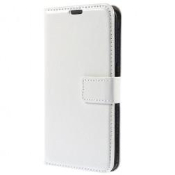 Atverčiamas odinis dėklas - baltas (Galaxy S6)