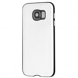 Slim Leather dėklas - baltas (Galaxy S6)