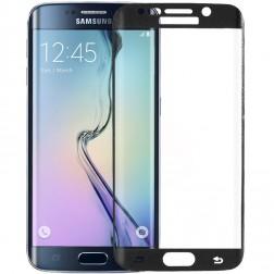 """""""Amorus"""" Tempered Glass apsauginis ekrano stiklas 0.33 mm - juodas (Galaxy S6 Edge)"""