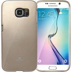 """""""Mercury"""" dėklas - auksinis (Galaxy S6 Edge)"""