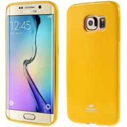 """""""Mercury"""" dėklas - geltonas (Galaxy S6 Edge)"""