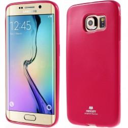 """""""Mercury"""" dėklas - tamsiai rožinis (Galaxy S6 Edge)"""