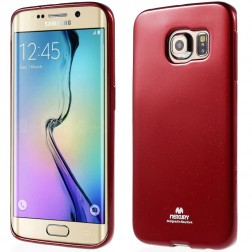 """""""Mercury"""" dėklas - raudonas (Galaxy S6 Edge)"""