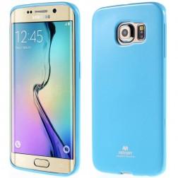 """""""Mercury"""" dėklas - šviesiai mėlynas (Galaxy S6 Edge)"""