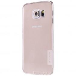 """""""Nillkin"""" Nature TPU dėklas - skaidrus (Galaxy S6 Edge)"""