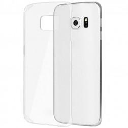 Plastikinis dėklas - skaidrus (Galaxy S6 Edge)