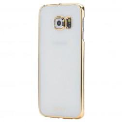 """""""ROCK"""" Neon dėklas - auksinis (Galaxy S6 Edge)"""