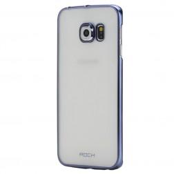 """""""ROCK"""" Neon dėklas - mėlynas (Galaxy S6 Edge)"""