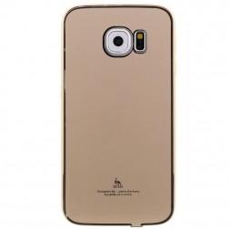 """""""Luphie"""" plastikinis dėklas - auksinis (Galaxy S6 Edge)"""