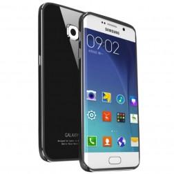 """""""Luphie"""" stiklinis dėklas - juodas (Galaxy S6 Edge)"""