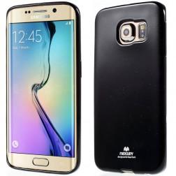 """""""Mercury"""" dėklas - juodas (Galaxy S6 Edge)"""