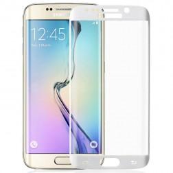 """""""Amorus"""" Tempered Glass apsauginis ekrano stiklas 0.33 mm - baltas (Galaxy S6 Edge+)"""