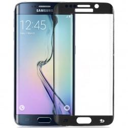 """""""Amorus"""" Tempered Glass apsauginis ekrano stiklas 0.33 mm - juodas (Galaxy S6 Edge+)"""